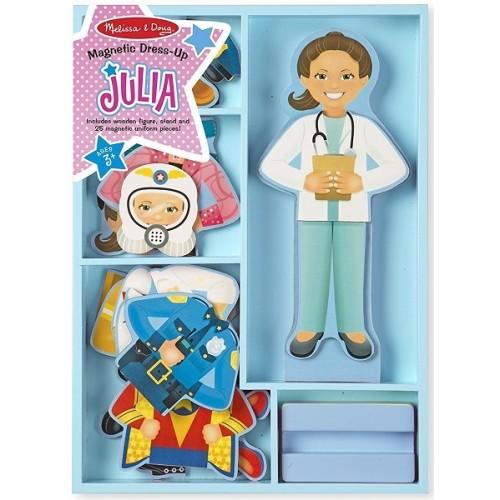 Julia Magnetic Career Dress-Up Doll
