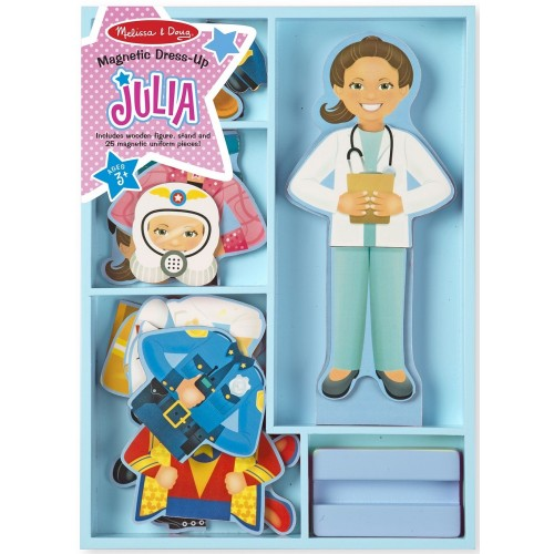Julia Magnetic Career Dress-Up Doll