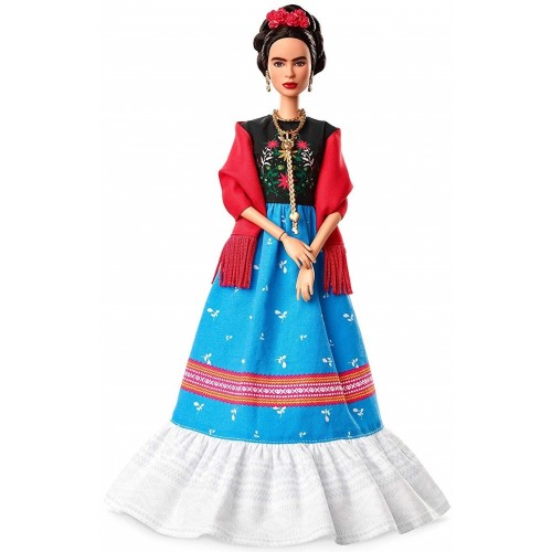 Frida Kahlo Inspiring Women Doll