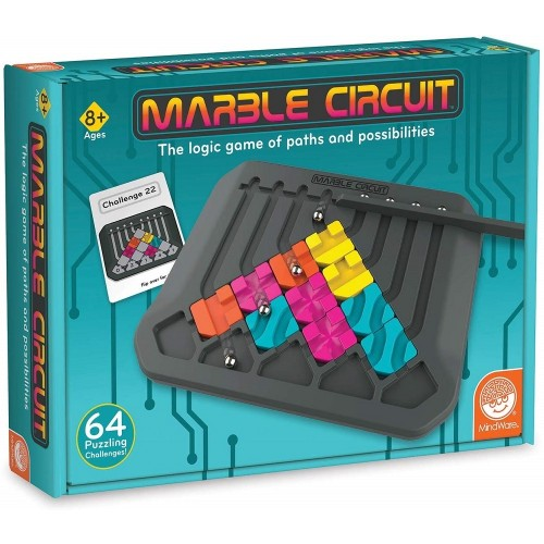 Marble Circuit: The Logic Game of Paths and Possibilities