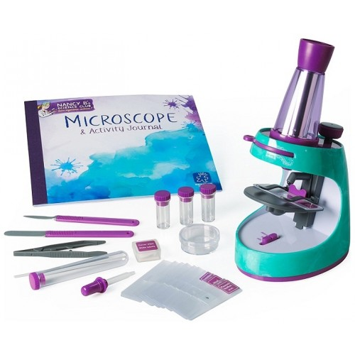 Nancy B.'s Science Club Microscope and Activity Journal