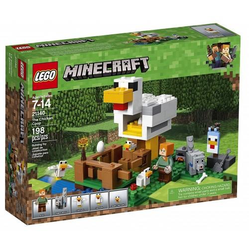 LEGO Minecraft Chicken Coop