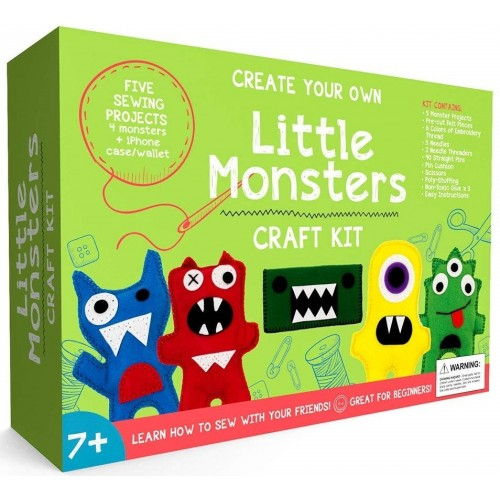 Little Monsters Beginners Sewing Kit