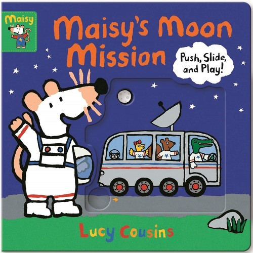 Maisy's Moon Mission: Push, Slide, and Play!