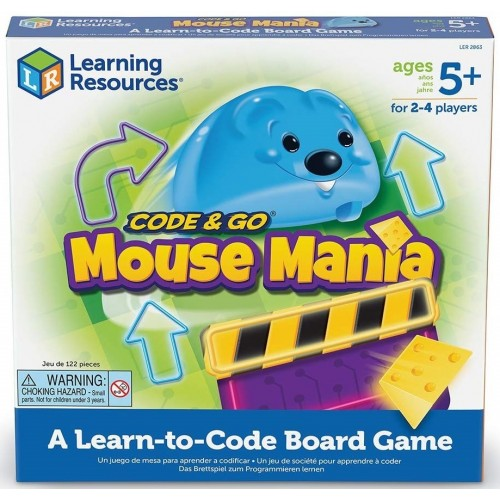 Code and Go Mouse Mania Coding Board Game