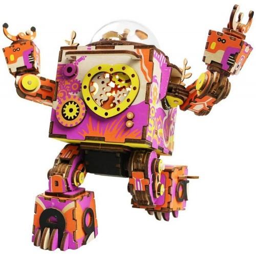 Orpheus Robot Music Box Puzzle