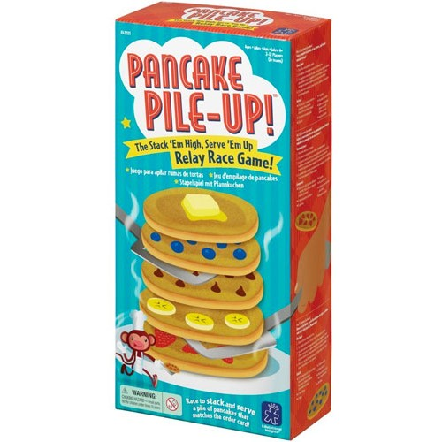 Pancake Pile-Up Relay Game