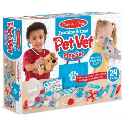 Examine and Treat Pet Vet Set