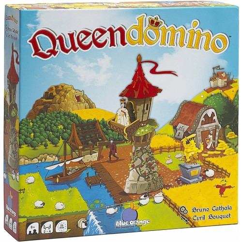 Queendomino Strategy Board Game