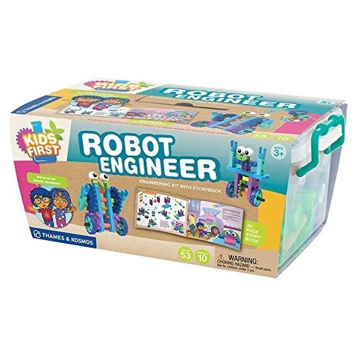 Robot Engineer Kit and Storybook