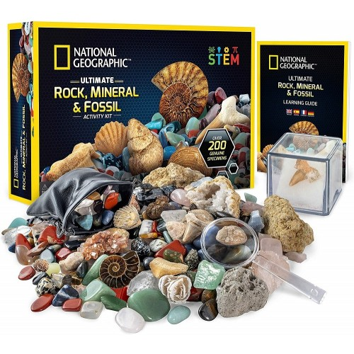 Ultimate Rock, Mineral, and Fossil Kit