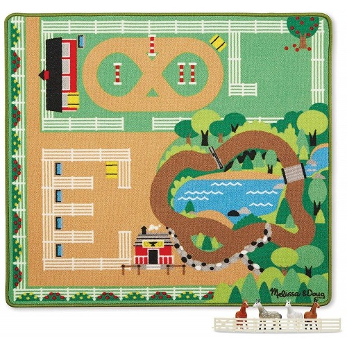 Round the Ranch Play Rug