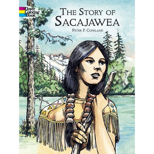 The Story of Sacajawea Coloring Book