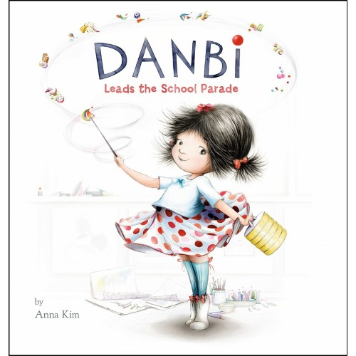 Danbi Leads the School Parade