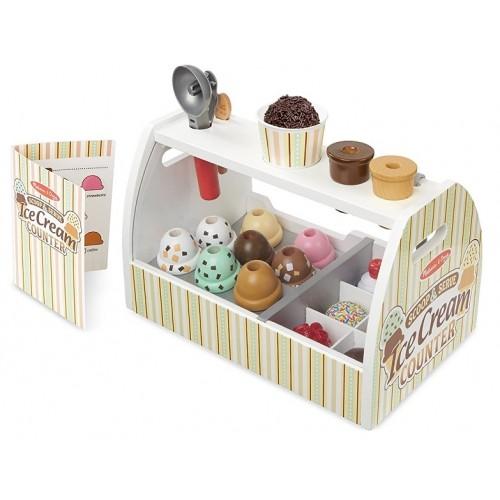 Scoop and Serve Ice Cream Counter