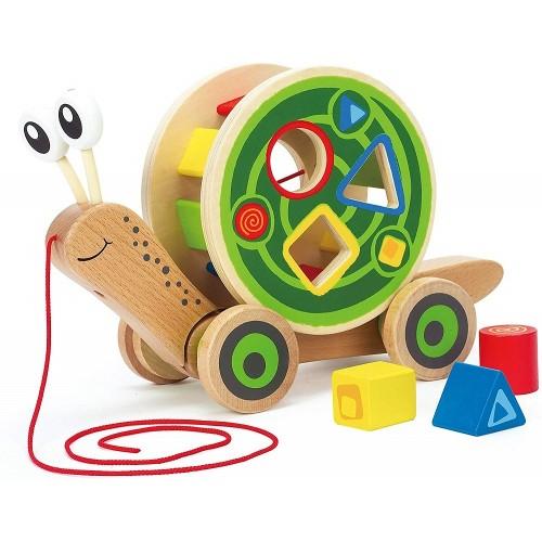 Walk-A-Long Snail Toy