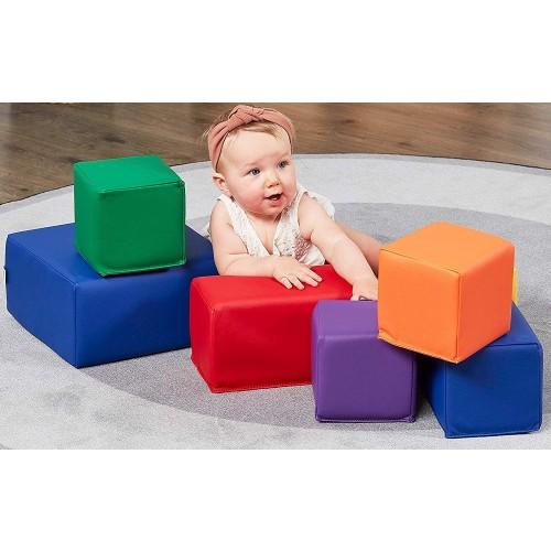 Soft Building Blocks Toddler Playset