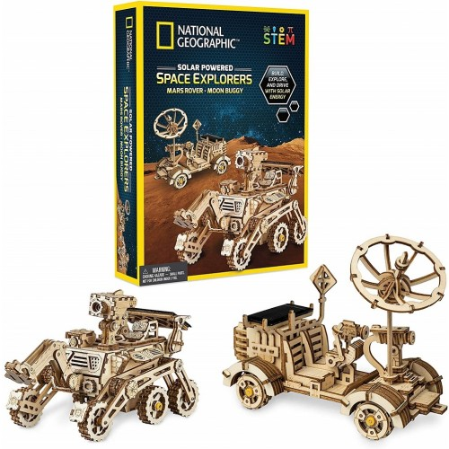 National Geographic Solar Powered Space Explorers Kit