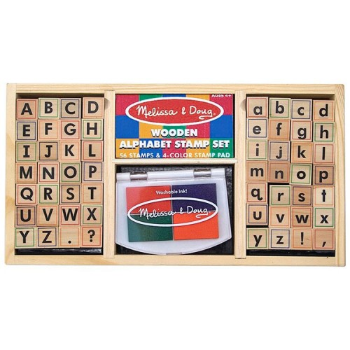 Deluxe Alphabet Stamp Set