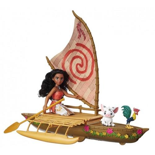 Moana's Starlight Canoe and Friends