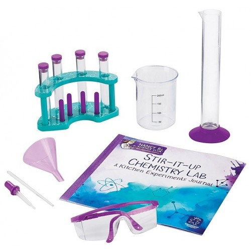 Nancy B.'s Science Club Stir-It-Up Chemistry Lab and Experiments Journal