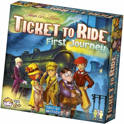 Ticket to Ride: First Journey Game