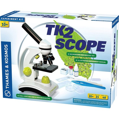 TK2 Microscope and Biology Experiment Kit