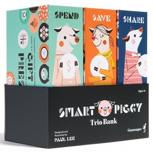 Smart Piggy Trio Bank