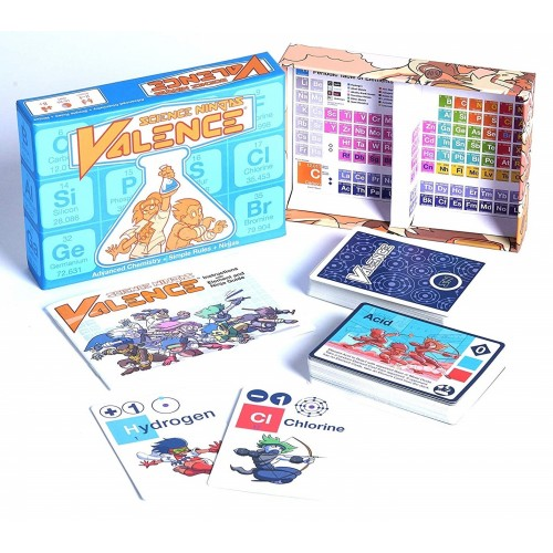 Science Ninjas: Valence Card Game
