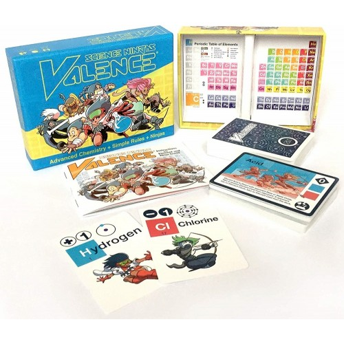 Science Ninjas: Valence Card Game