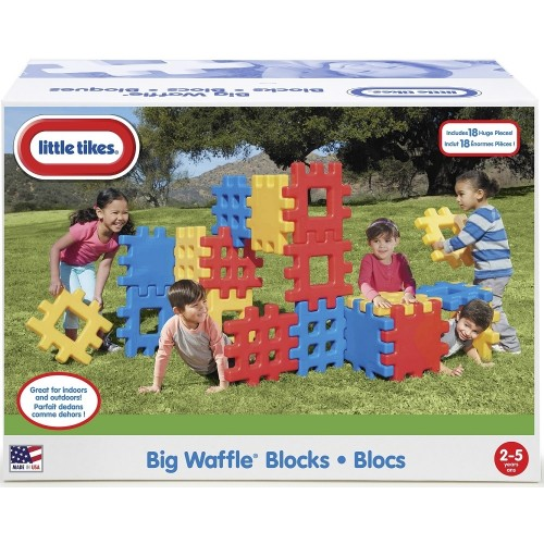 Little Tikes Big Waffle Blocks Set