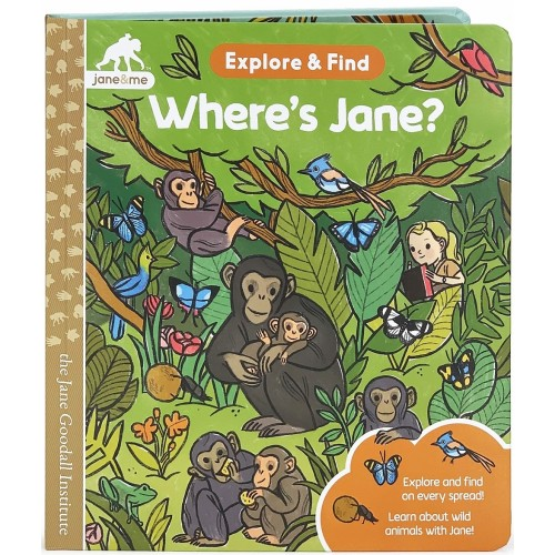 Explore and Find: Where's Jane?