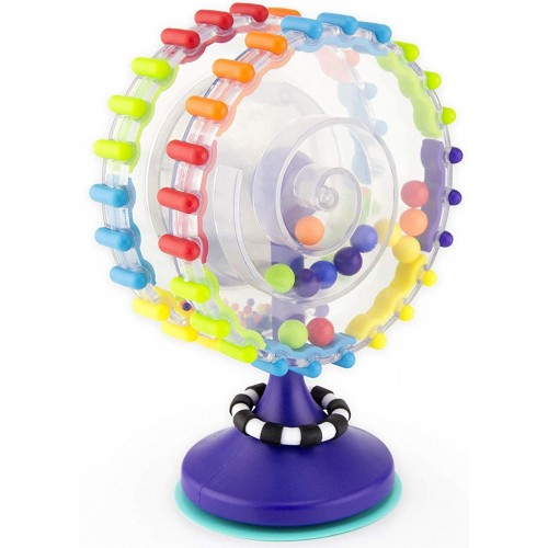 Whimsical Wheel Suction Cup Toy