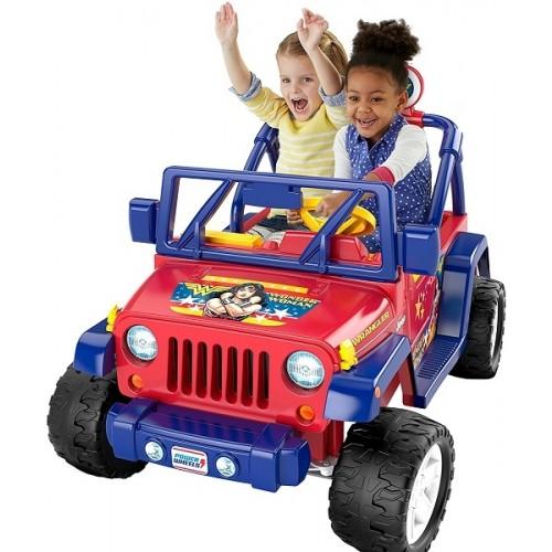 Power Wheels Wonder Woman Jeep