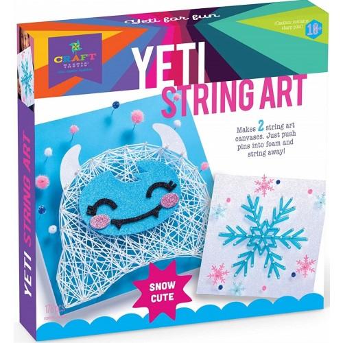 Yeti String Art Kit