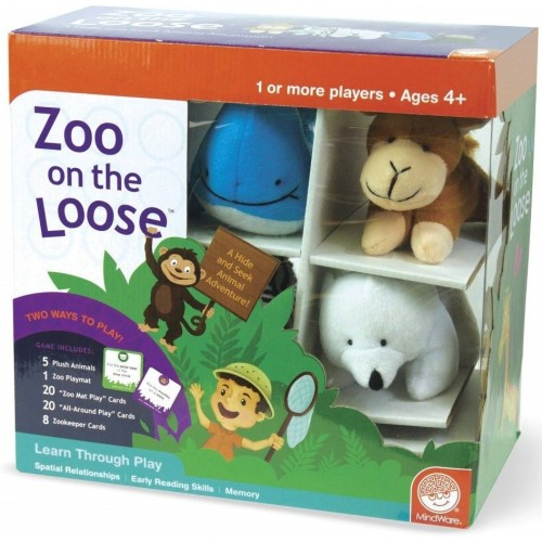 Zoo on the Loose Color Matching Game