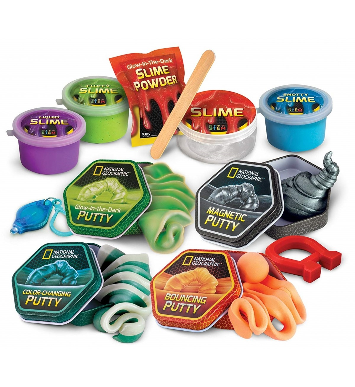 National Geographic Mega Slime And Putty Lab A Mighty Girl