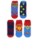 Captain Marvel Ankle Socks (5-Pack)